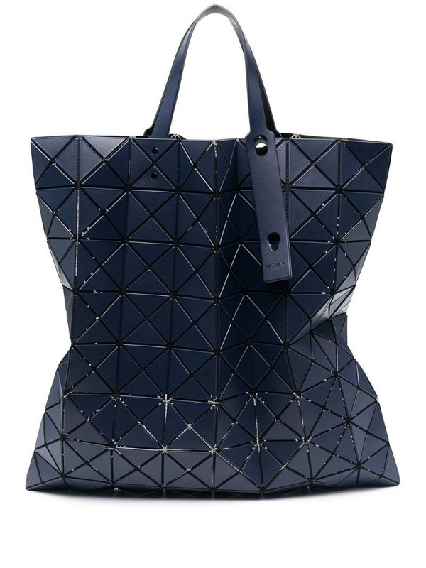 Bao Bao Issey Miyake Lucent Matte tote bag in blue