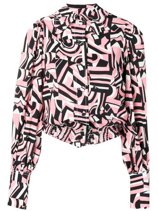 La Doublej Fever shirt in pink