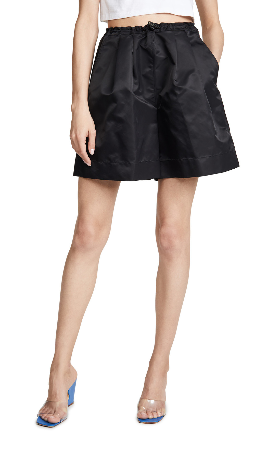 STAUD Coconut Shorts in black