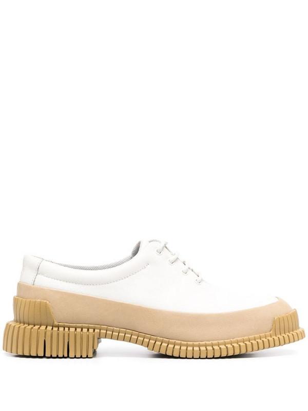 Camper Pix contrast sole shoes in neutrals
