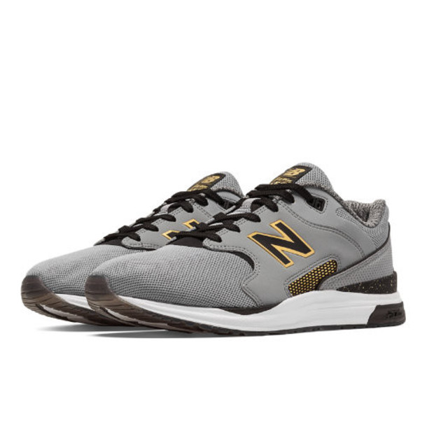 New Balance 1550 Bold and Gold Men's Men s Sport Style Sneakers Shoes - Grey/Black/Gold (ML1550BG)