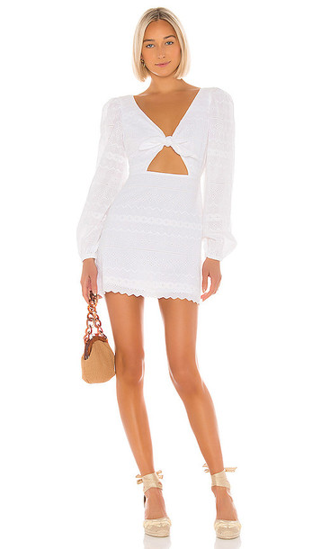 Tularosa Pippa Dress in White