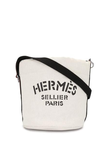 Hermès 1999 pre-owned Sac de Pansage shoulder bag in white