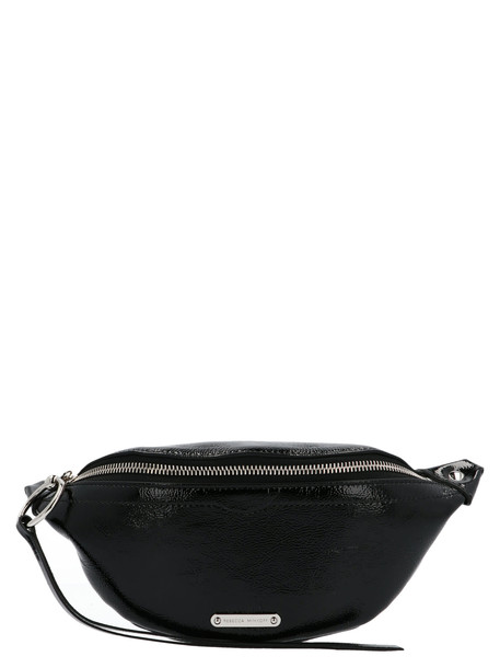 Rebecca Minkoff mini Sling Naplack Bag in black