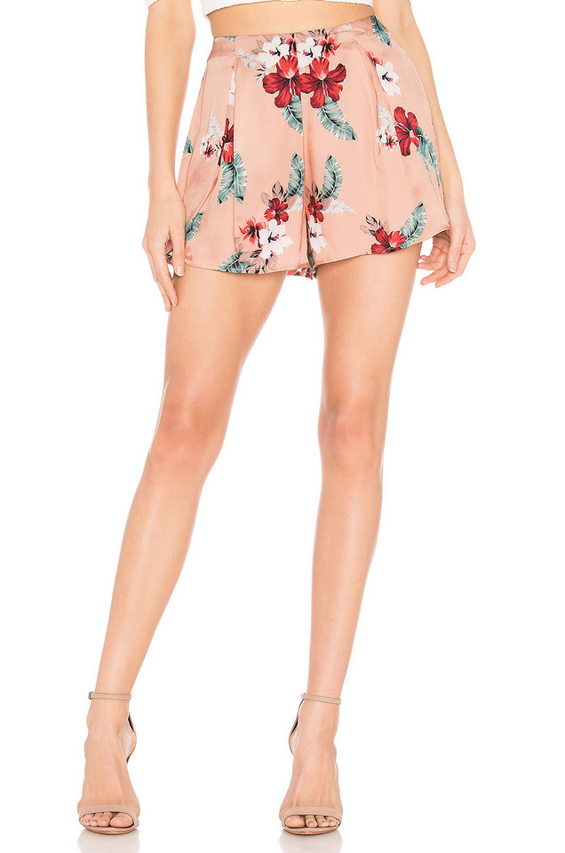 MAJORELLE Hunter Shorts in pink