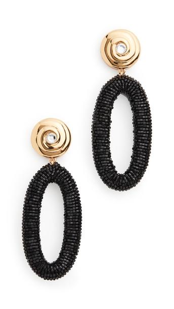 Lizzie Fortunato Allure Earrings in black