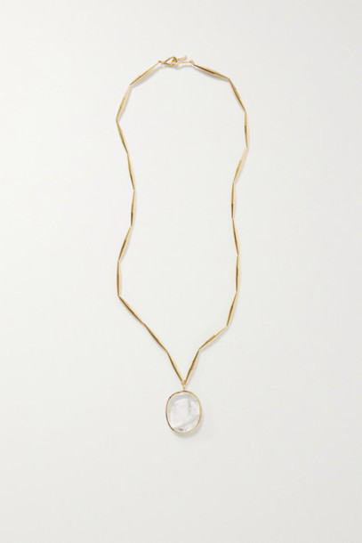 Tohum - Lumia Gold-plated Crystal Necklace