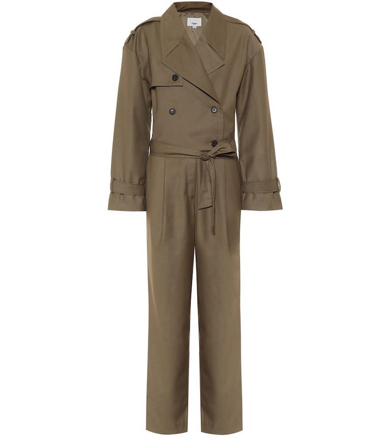 Frankie Shop Frankie jumpsuit in brown