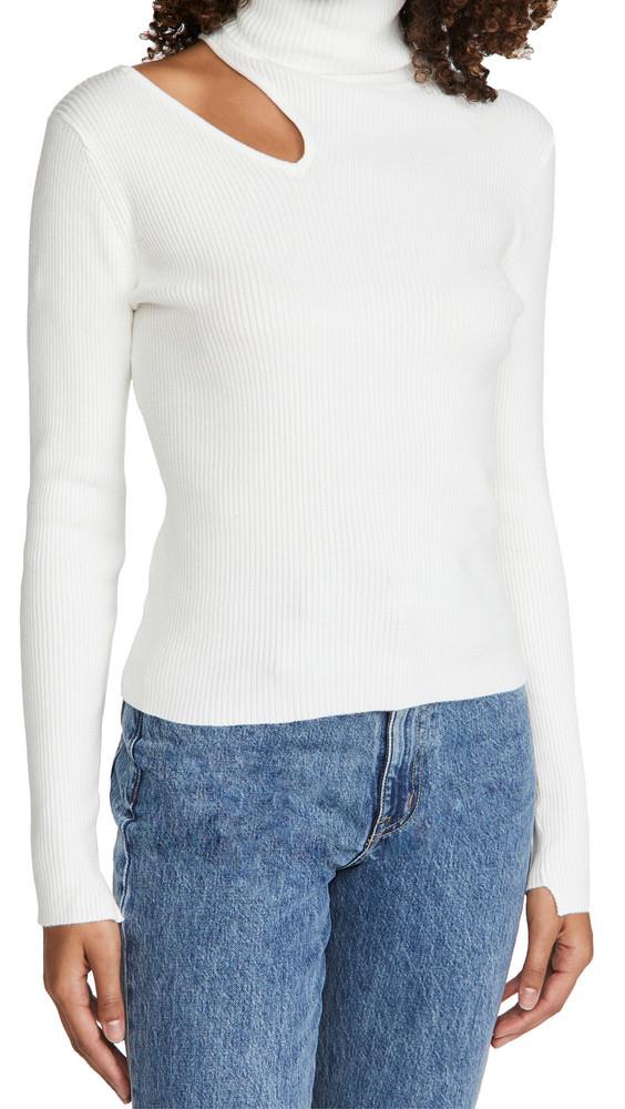 ASTR the Label Vivi Sweater in white