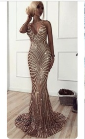 dress,sequins,v neck dress,cross back,gold sequins,gold,gold dress,prom dress,prom,gold sequins dress,sequin dress,long dress,open back,open back dresses,open back prom dress,mermaid prom dress,mermaid,sexy v neck dress
