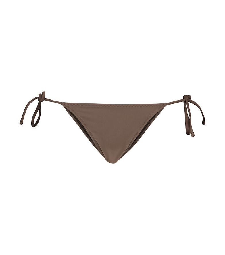Tropic of C Praia bikini bottoms in brown