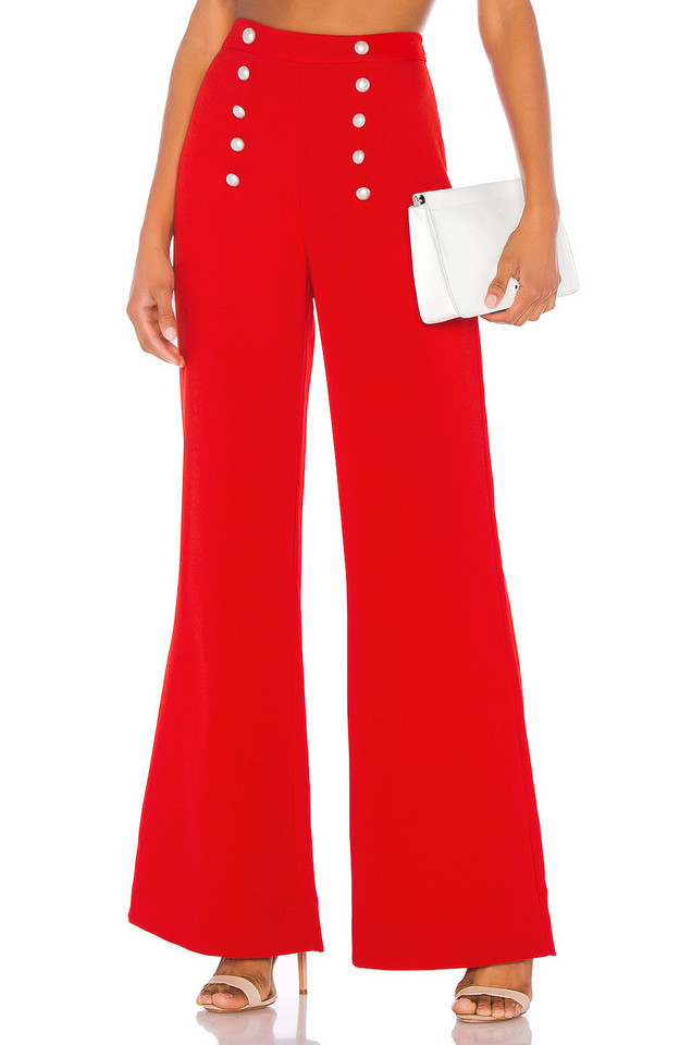 LIKELY James Pant in red