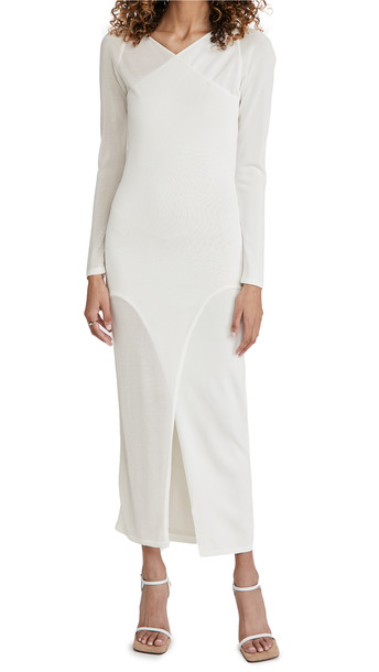 Dion Lee Shadow Inverse Dress in ivory