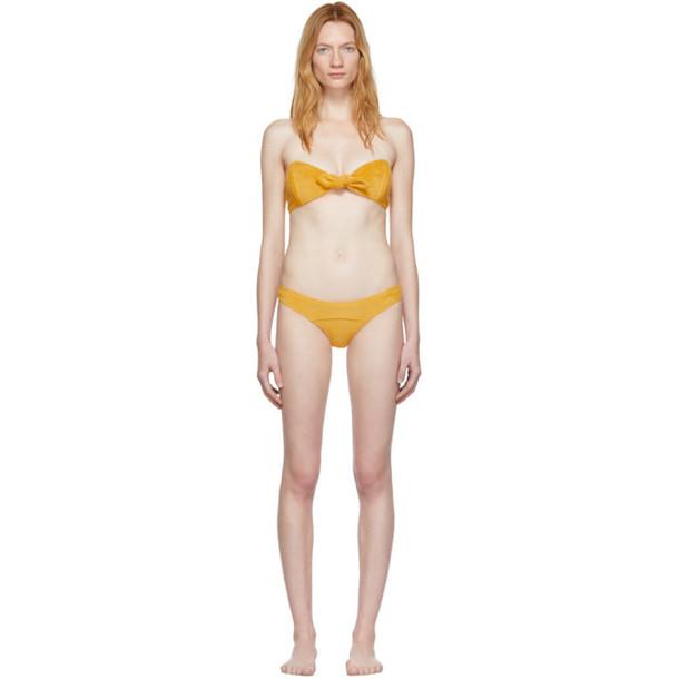 Lisa Marie Fernandez Yellow Poppy Bikini