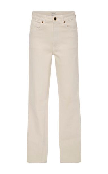 Khaite Vanessa High-Rise Skinny Jeans Size: 24 in ivory