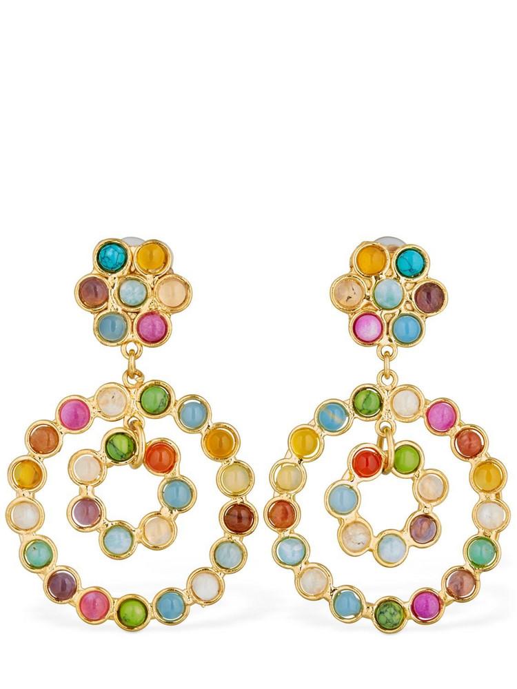 SYLVIA TOLEDANO Flower Candies Clip-on Earrings