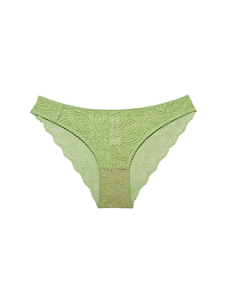 UNDERPROTECTION Luna Lace Briefs in mint