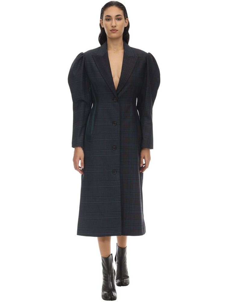PUSHBUTTON Techno Coat in black