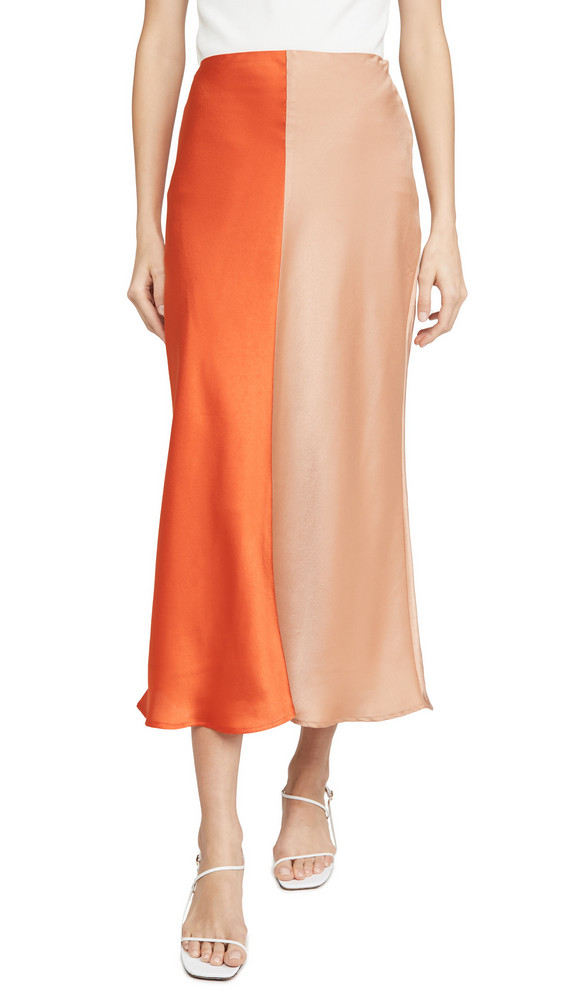 C/Meo Collective Thoughtful Skirt in tan