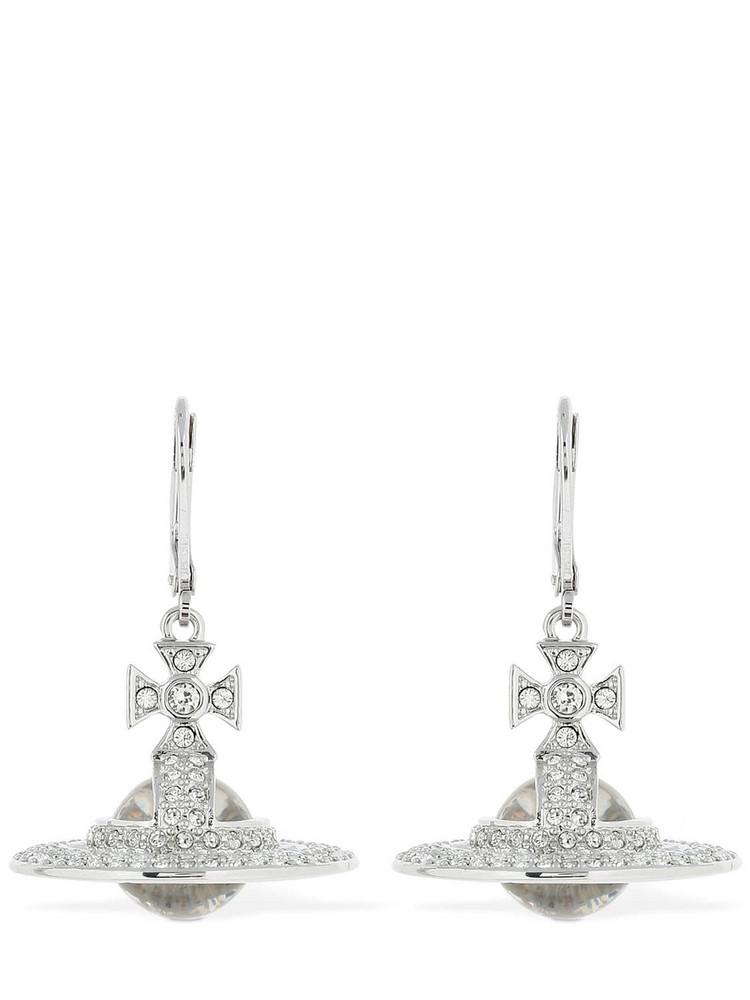 VIVIENNE WESTWOOD Sorada Orb Earrings in silver
