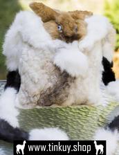 bag,bag for hunters,rabbit fur,handmade bag,shoulder bag,hunter bag,hunting backpack,rabbit purse,rabbit fur bag,real fur bag,rabbit backpack