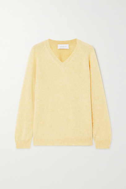 Alexandra Golovanoff - Catherine Cashmere Sweater - Yellow