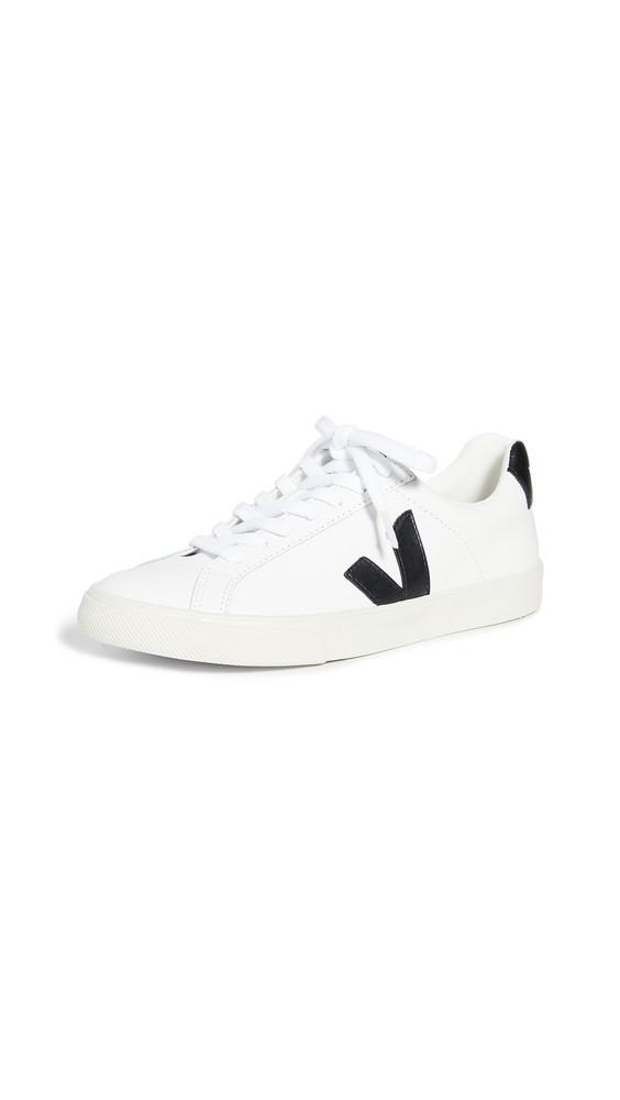 Veja Esplar Logo Sneakers in black / white
