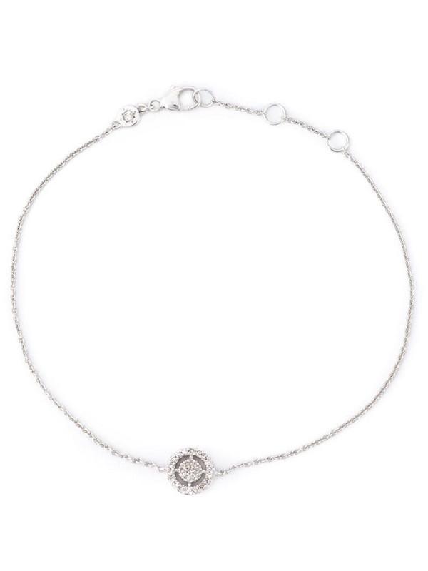 Astley Clarke 14kt white gold mini Icon Aura diamond bracelet in metallic