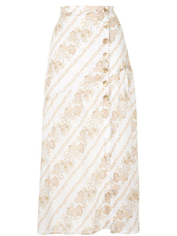 We Are Kindred Brote midi skirt in white