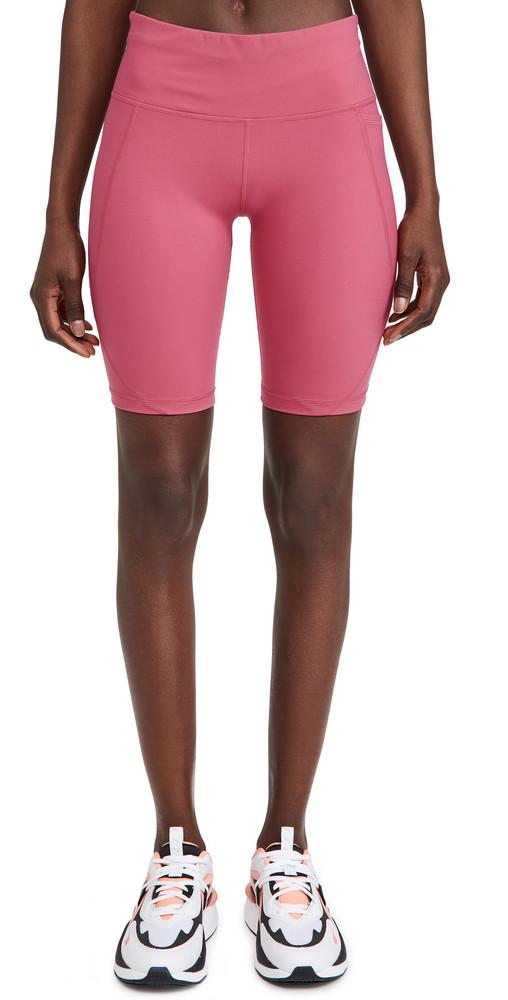 Sweaty Betty Power 9 Biker Shorts in pink
