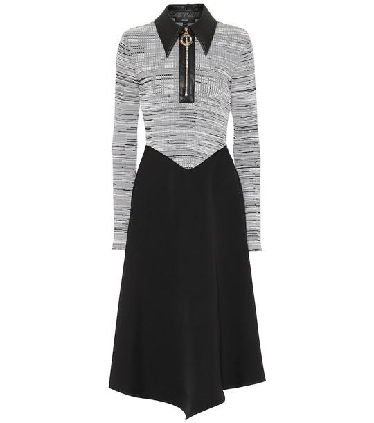 Ellery Palawan knit midi dress in black