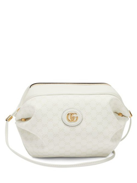 Gucci - New Candy Gg Supreme Canvas Cross Body Bag - Womens - White