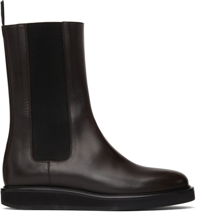 Legres High Chelsea Boots in brown