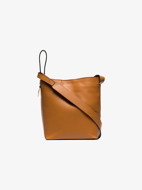 Atp Atelier brown piombino leather shoulder bag