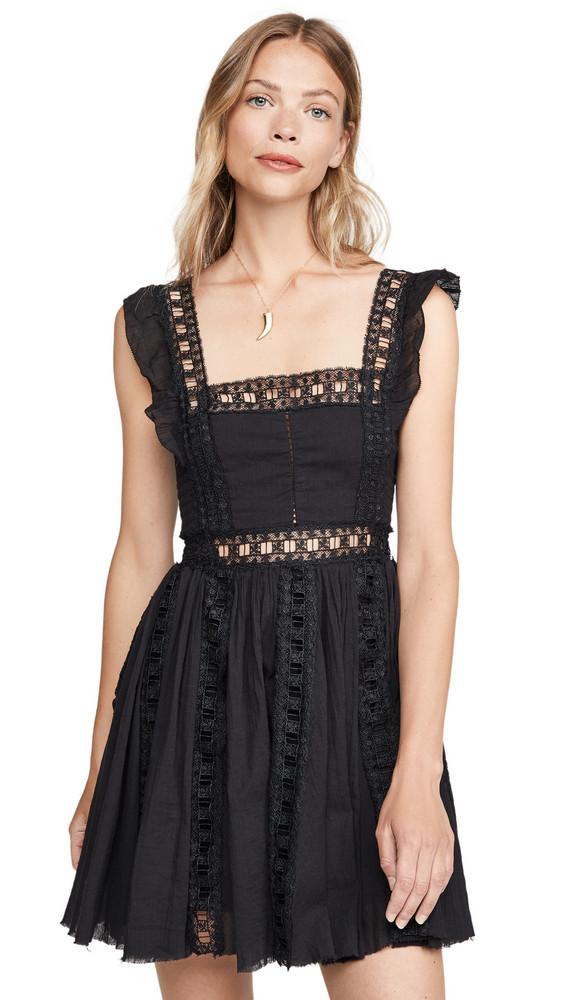 Free People Verona Dress in black
