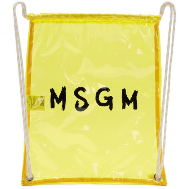 backpack yellow bag