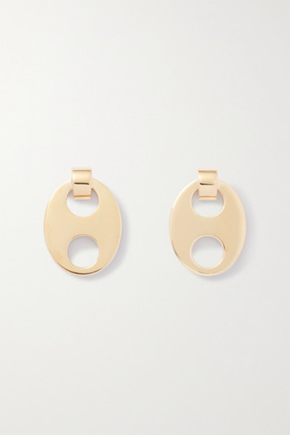 Paco Rabanne - Eight Gold-tone Earrings