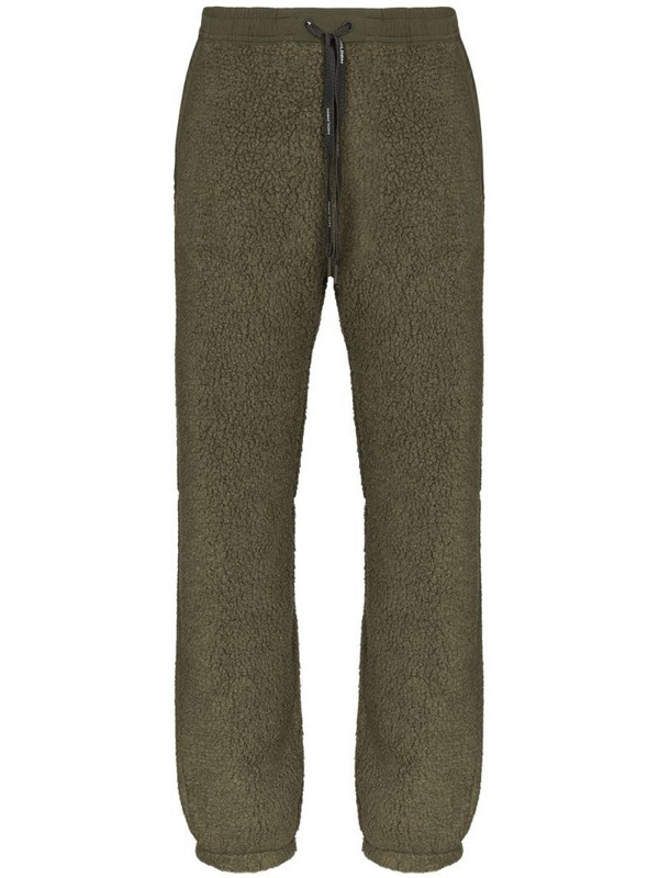 Holden performance sherpa track pants in green