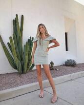 dress,mini dress,off the shoulder dress,flat sandals,summer dress,summer outfits
