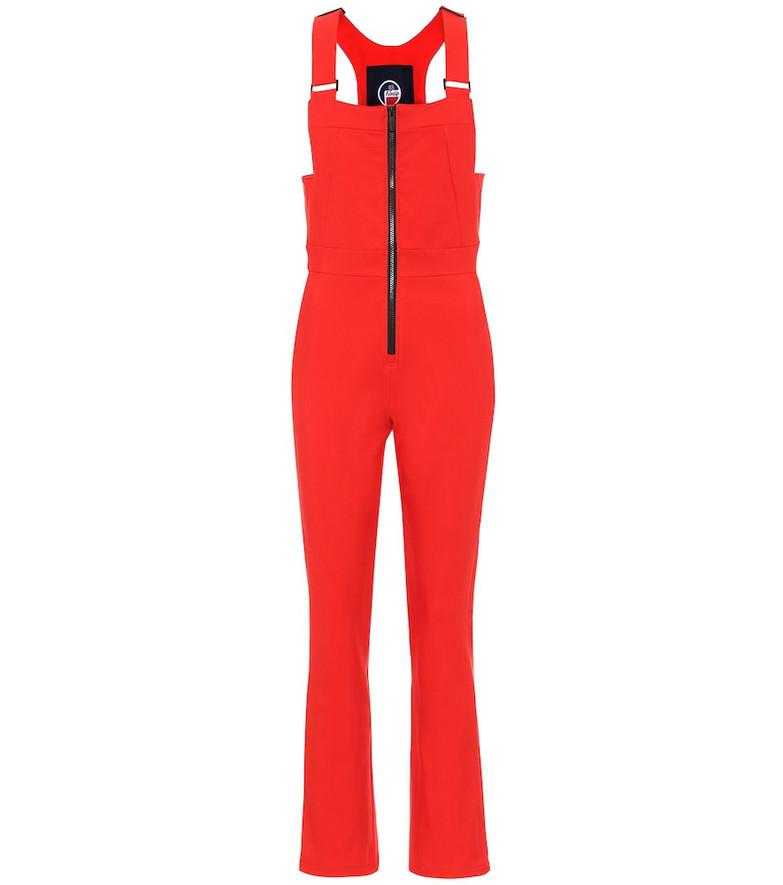 Fusalp Badia ski overalls in red