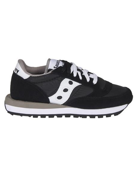 Saucony Paneled Sneakers in black