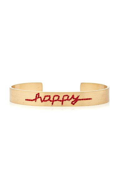 Roxanne Assoulin Happy Gold-Plated Cuff