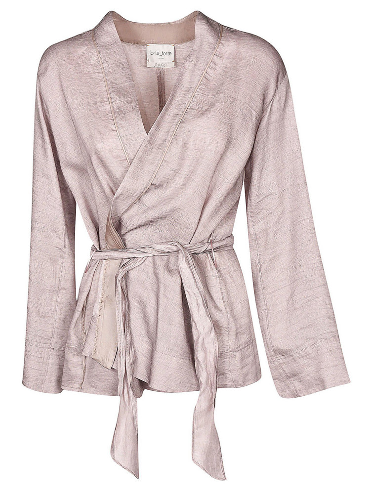 Forte Forte Shantung Jacket in pink