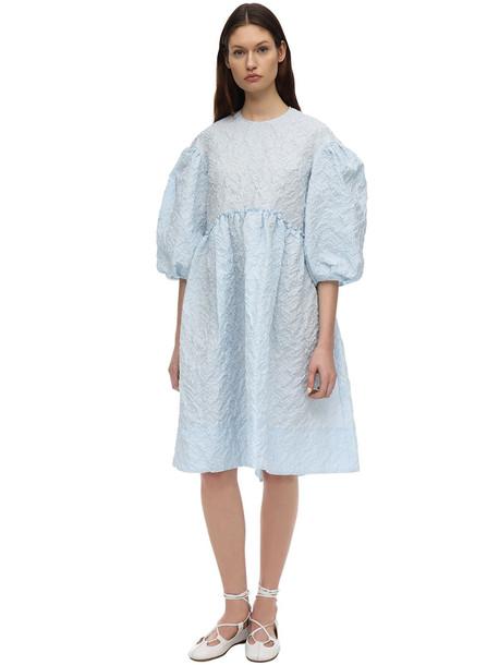 SIMONE ROCHA Smock Dress in blue