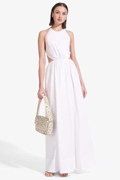 Staud APFEL DRESS | WHITE