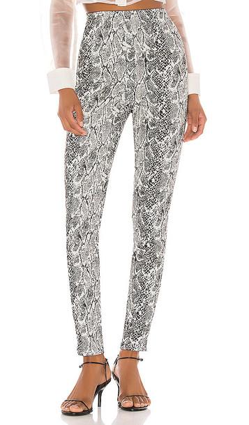 NBD Nora High Waist Pants in Gray