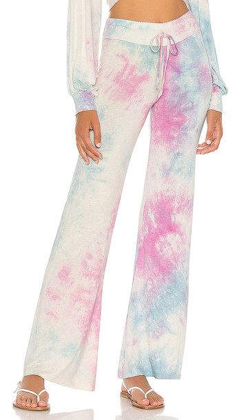BEACH RIOT Riot Lounge Pant in Baby Blue