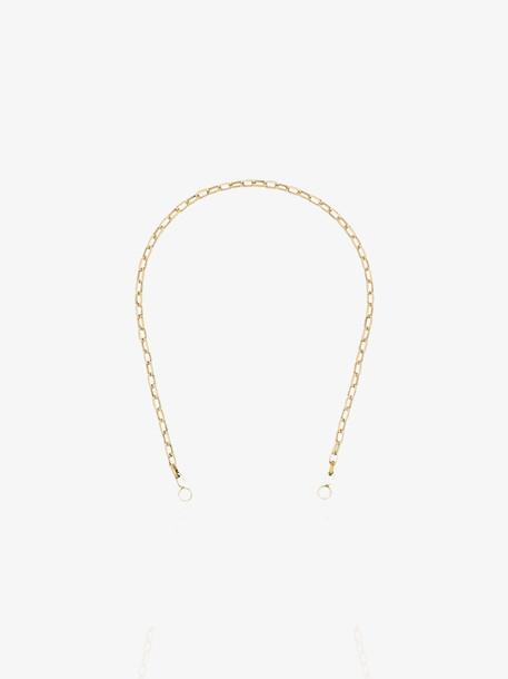 Marla Aaron 14kt yellow gold Biker chain necklace