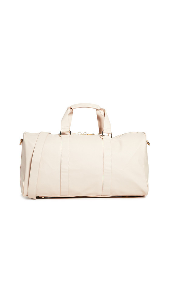 Stoney Clover Lane Textured Duffle Bag in sand
