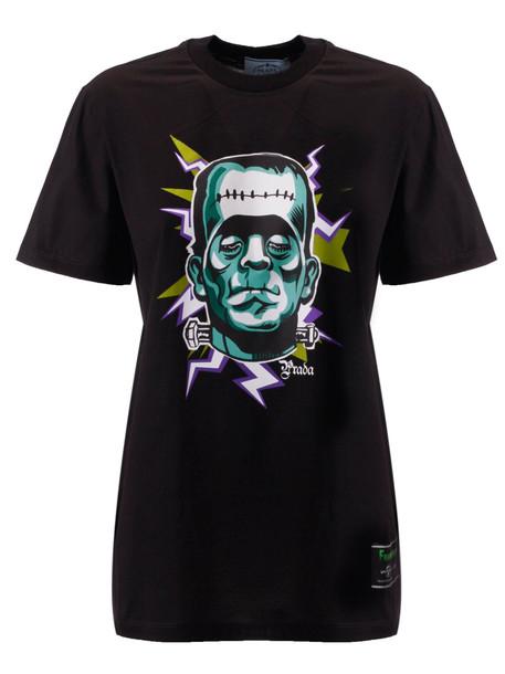 Prada St. Frankest T-shirt in nero